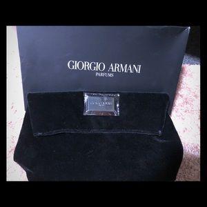 Armani clutch